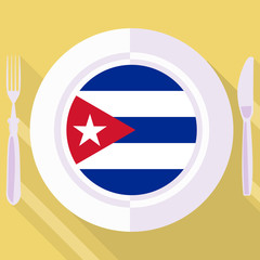 kitchen of Cuba