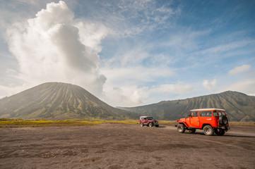 Tourists  Jeep