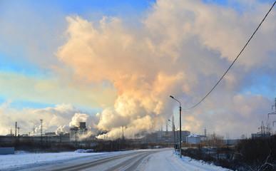 Дымовые трубы загрязнение воздуха