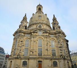 Frauenkirche church in Dresden,Germany