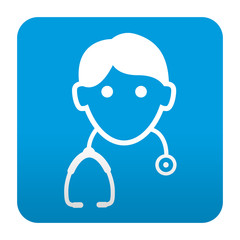 Etiqueta tipo app medico