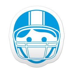 Pegatina simbolo football