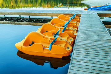 pedalo or paddle boat