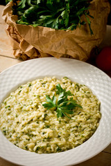 Risotto with Herbs