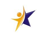 human star logo