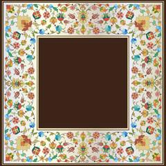 artistic ottoman pattern series twenty seven
