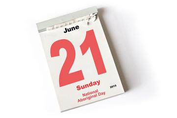 21. June 2015 National Aboriginal Day