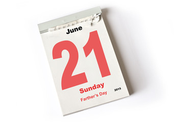 21. June 2015 Fathers Day