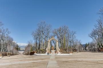 Saturn fountain at La Granja Palace, Spain