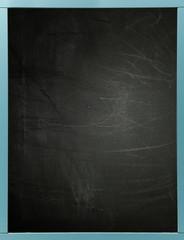Blackboard with blue frame