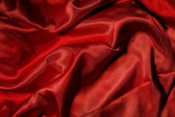 Hot red canvas texture