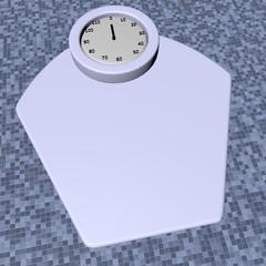 Scales, 3d render