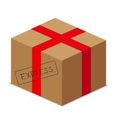 express carton package - stock vector