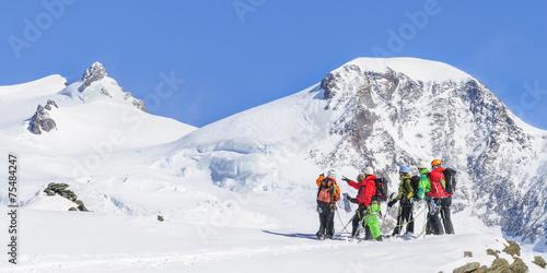 Papiers peints Glisse hiver Hochalpine Tour