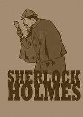 Sherlock investigate vintage