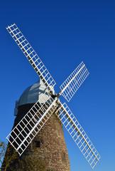 Halnaker Windmill in West Sussex, England.