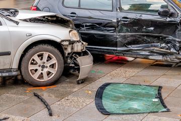 Blechschäden an Autos