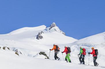 Hochtour mit Bergführer
