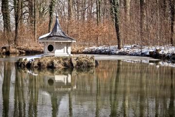 Rosenteich im Winter