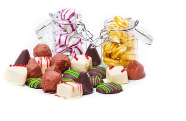 Pralinen und Bonbons
