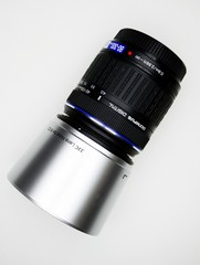 Lens 80-300 for photocamera Olympus in private collection