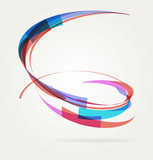 Fototapety Abstract background with lines