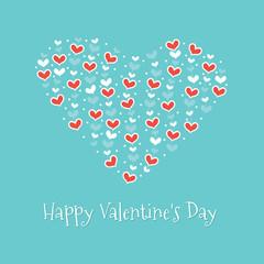 Happy Valentine's Day. Greeting Card 2