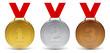 Médailles vectorielles 1 - 75491240