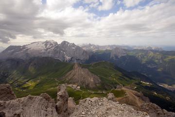 Passo Pordoi, la terrazza delle Dolomiti