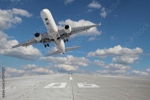 Takeoff aircraft
