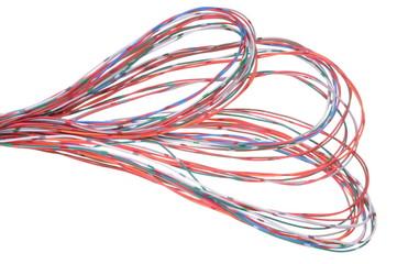Multicolored computer network cable