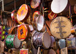 Moroccan drums souvenirs - 75495020