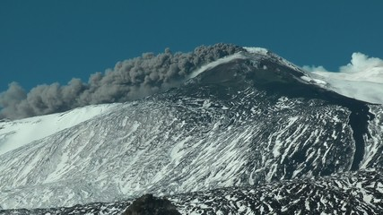 Emissioni di cenere Etna (2015)