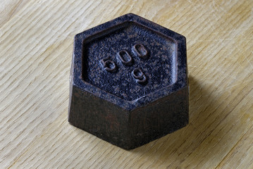 Antique Metric  Weight