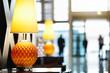 Leinwanddruck Bild - Hotel reception area