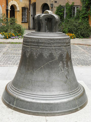 big old bronze bell