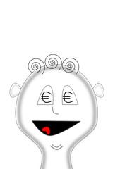 face - love euro