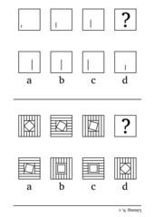 Rätsel: setze die Reihe logisch fort