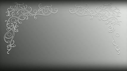 Sfondo con cornice decorata Gina