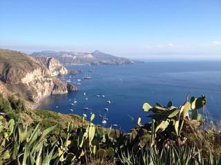 paysage ile eolienne sicile
