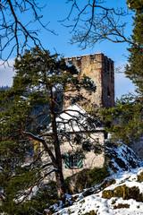 Schloss Hornberg im Winter