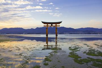 Japanese sunset dawn