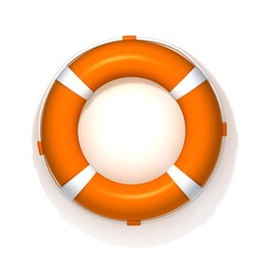 Lifebuoy 3d illustration