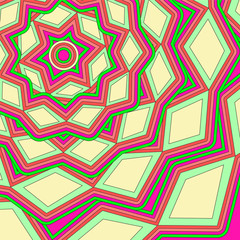 abstract geometric pattern. vector