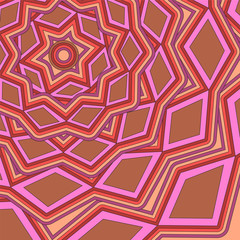 abstract geometric pattern. background. vector
