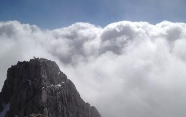 Über den Wolken am Hochkönig