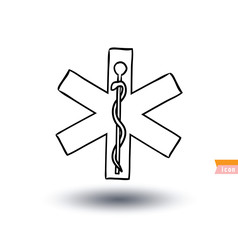 medical symbol, vector illustration.