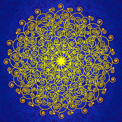 Spiral rosette