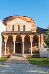 Santa Fosca Church on  the island of Torcello, in Venice, Italy