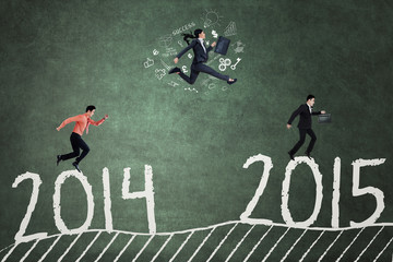 Businesspeople in race to achieve number 2015
